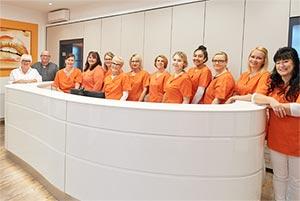 Das Praxisteam Zahn Docs Diez